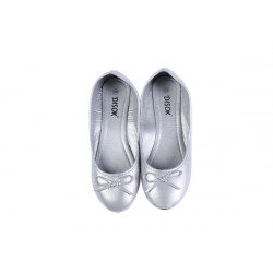 BAILARINAS MANOLETINAS WEDDING TALLA S PLATA