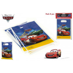 PACK 8 BOLSITAS PARTY CARS